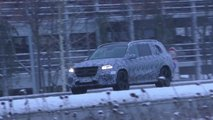 New Mercedes GLS screenshot from spy video