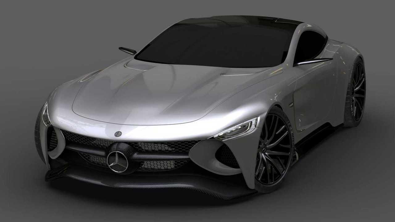 Mercedes-Benz SLR Vision Render