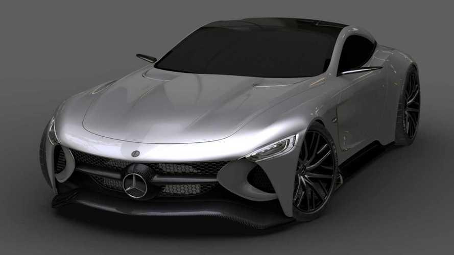 Mercedes SLR Vision konsepti ikonik GT modelini diriltiyor