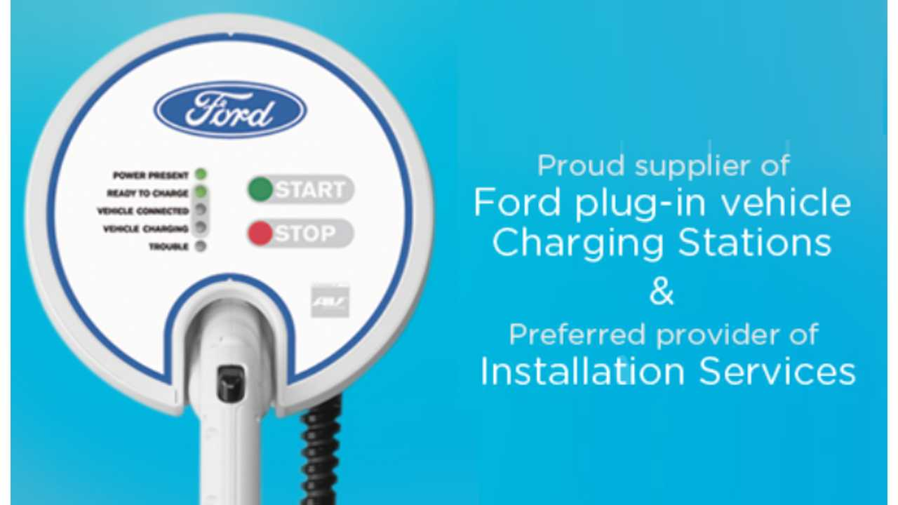 Ford Selects AeroVironment For Home Charging Solution For Their Electric Vehicle Lineup