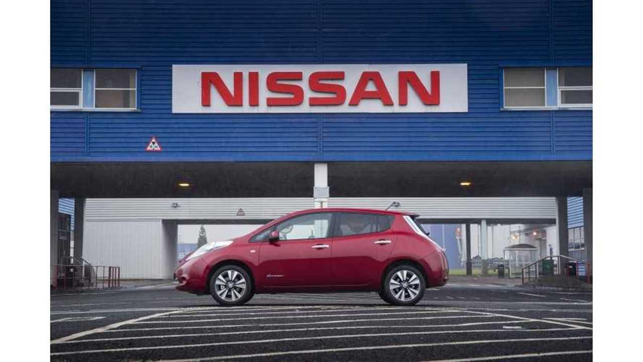 Nissan LEAF Wins 2013 Fleet World Honours Award in UK