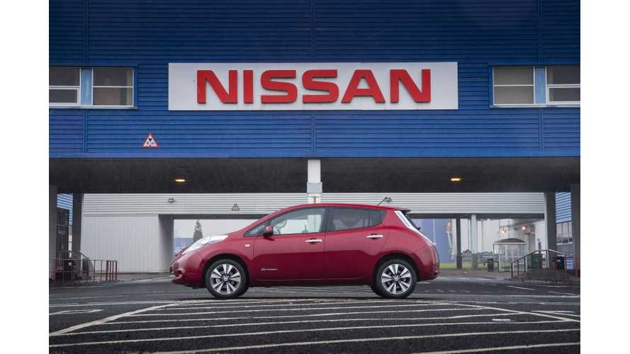 Nissan LEAF Wins 2013 Fleet World Honours Award in UK