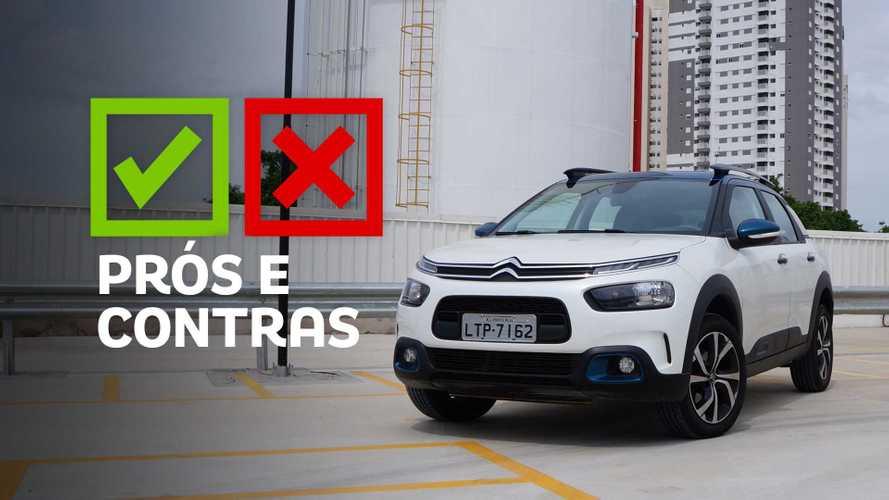 Citroën C4 Cactus Feel Pack 1.6 automático: Prós e Contras