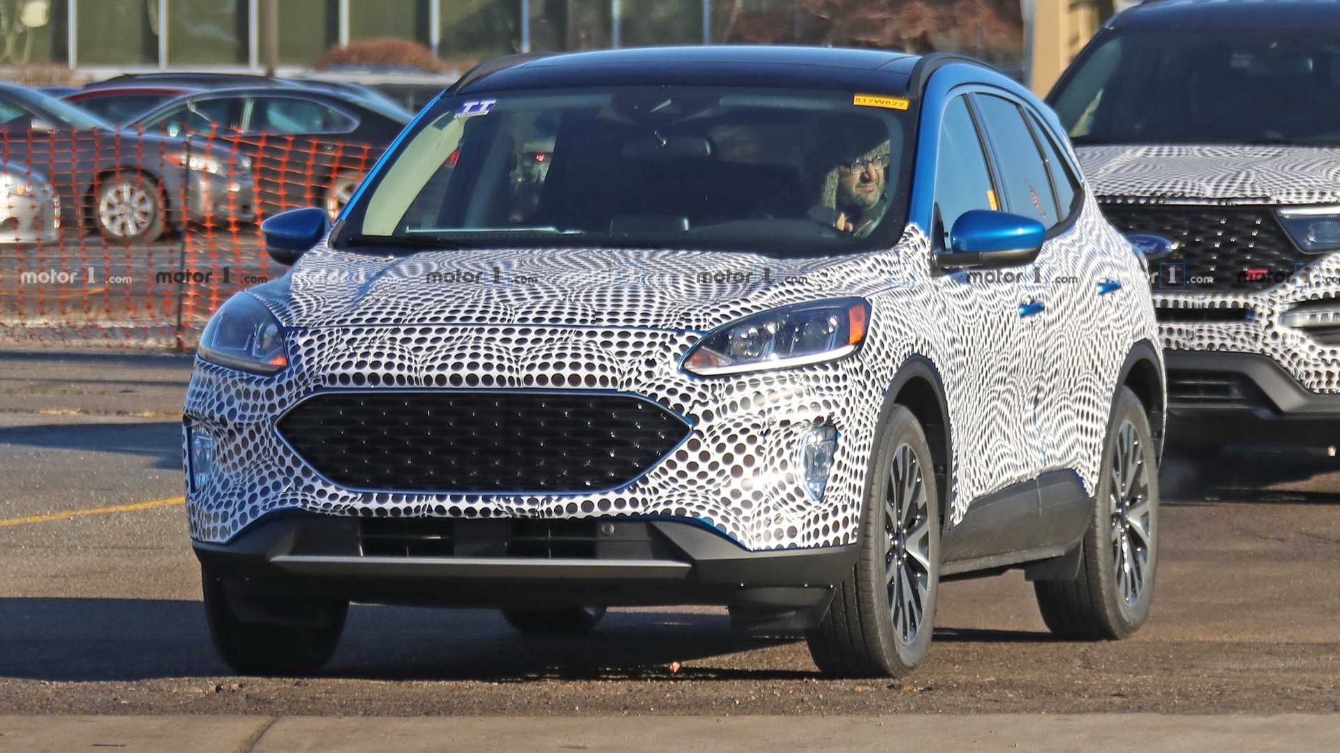 2020-ford-​escape-spy​-photo