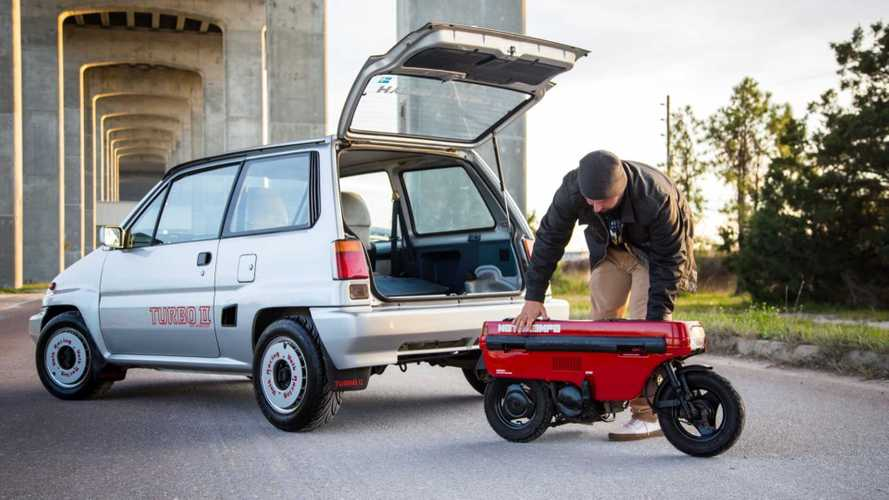 Cycleweird: Honda's Crazy Trunk-Sized Motocompo