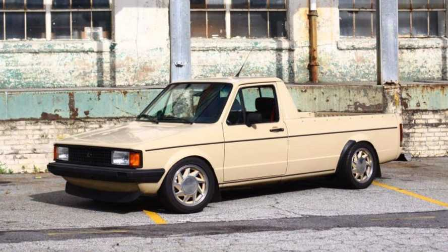 This Turbo VR6 1981 Volkswagen Caddy is a steal at $8k