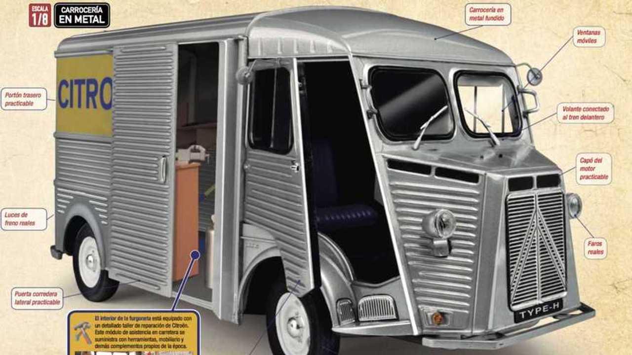 Citroën Type H colección Altaya