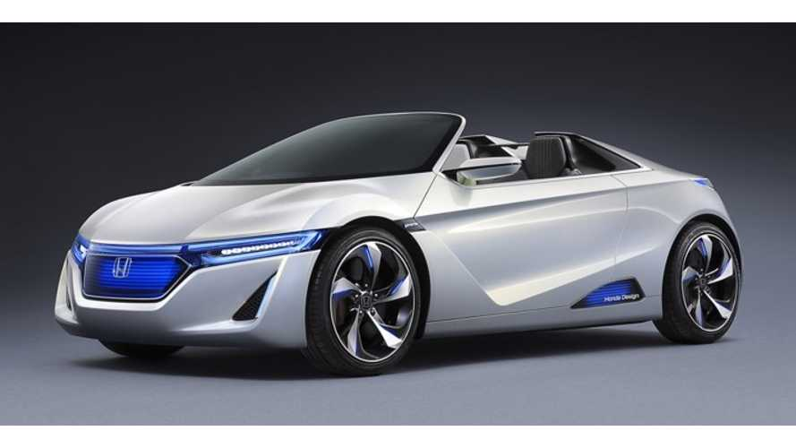 Honda EV-STER Rear-Wheel Drive Electric Concept Makes Another US Debut; We Continue to Dream