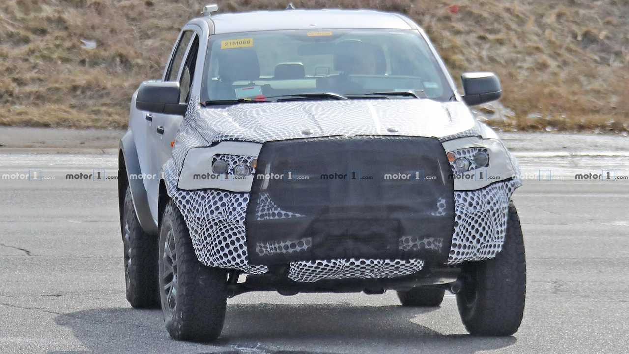Ford Ranger Raptor Spy Shots