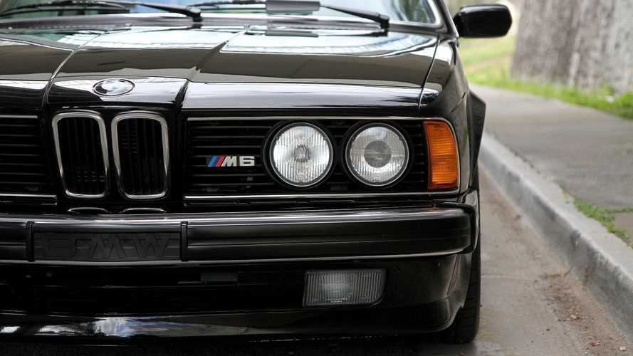 The Greatest Looking Coupe From The Eighties: BMW M6