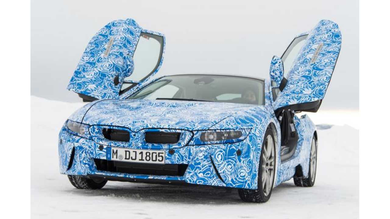 First Rides of BMW i8 Plug-In Hybrid Confirm M3-Matching Capabilities (Video)