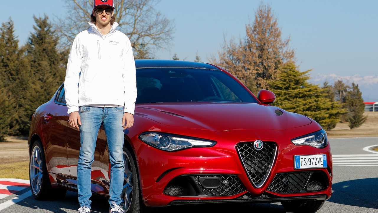 Alfa Romeo team F1 Balocco