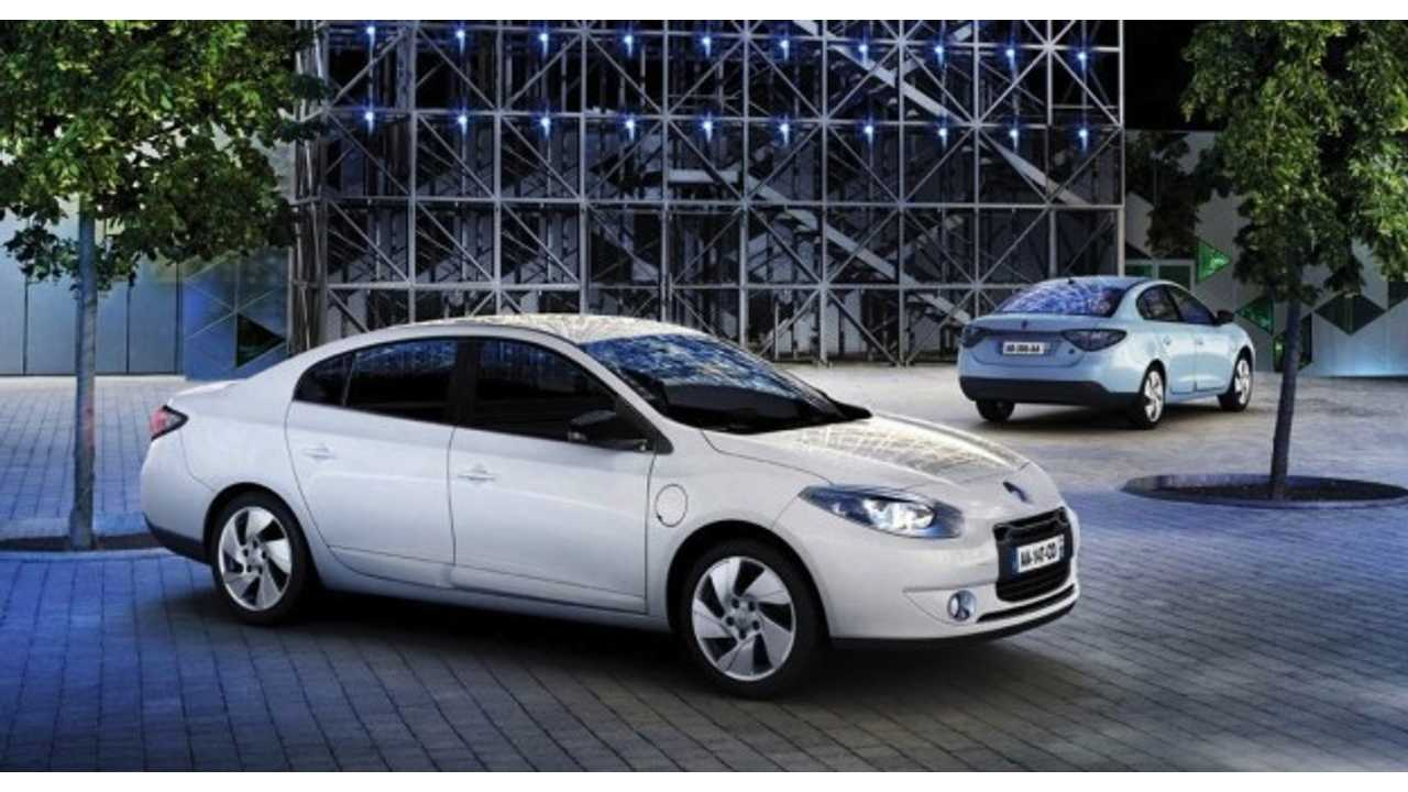 Production of Renault Fluence Z.E. Comes to an End