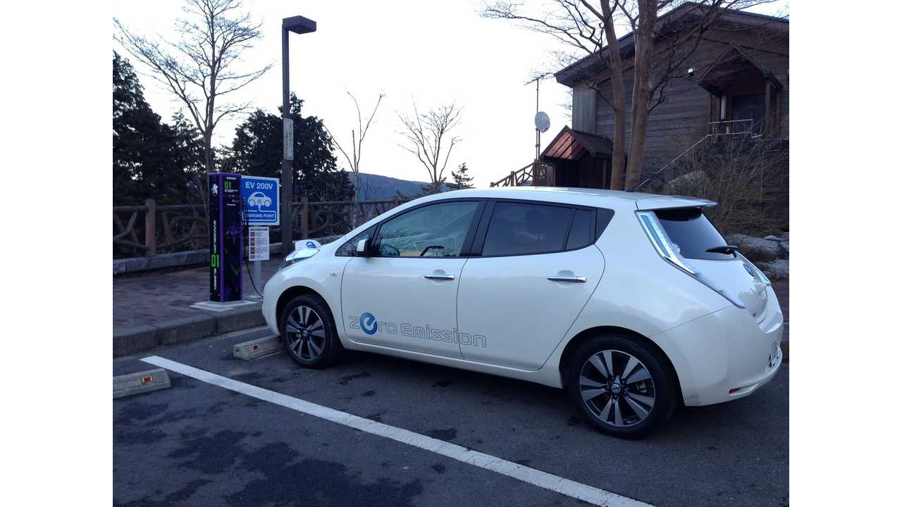 LEAF Starts 2014 in Japan With Strong Sales of 1,241 in January