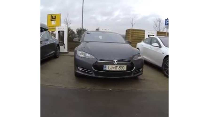 Video: Tesla Road Trip - Europe Gets Supercharged