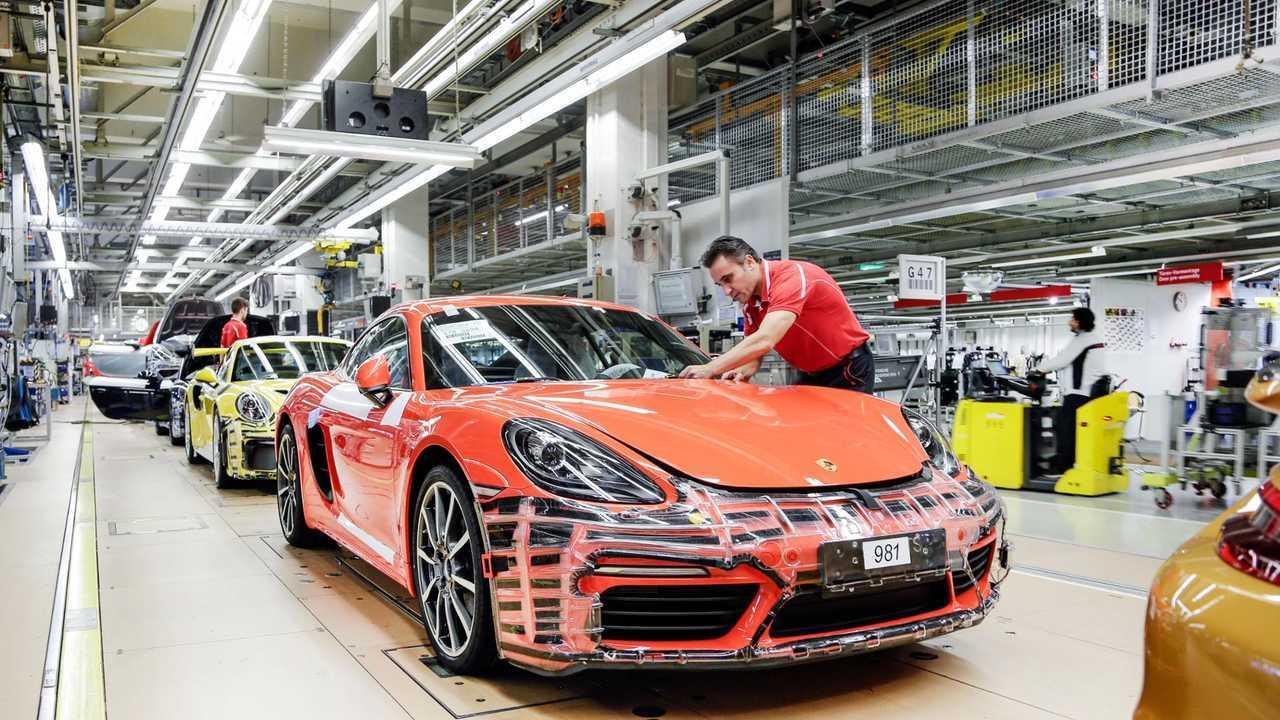 Porsche Assembly Line