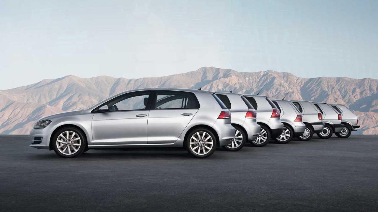 VW Golf Generations
