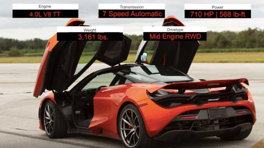 Watch stock McLaren 720S beat its declared top speed