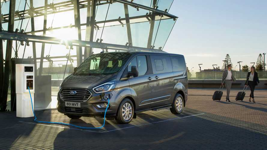 Ford Tourneo Custom Hybrid Plug-in