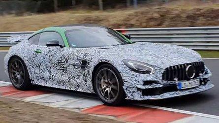 Möglicher Mercedes-AMG GT Black Series erwischt