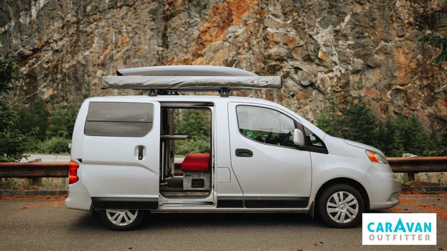 Nissan Camper Van Proves Good Things Come In Small Packages