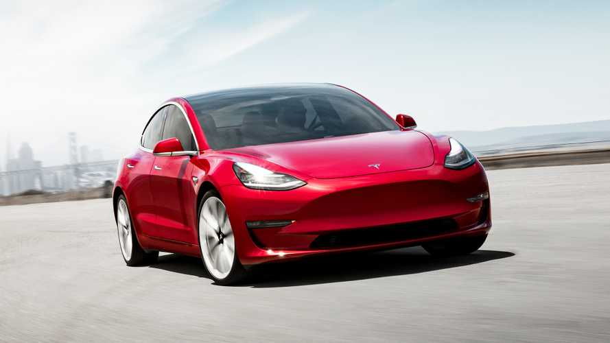 Tesla Model 3 photos officielles