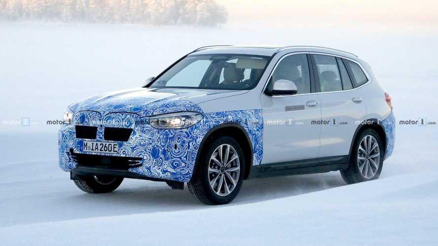 Электрокроссовер BMW iX3 окажется заднеприводным