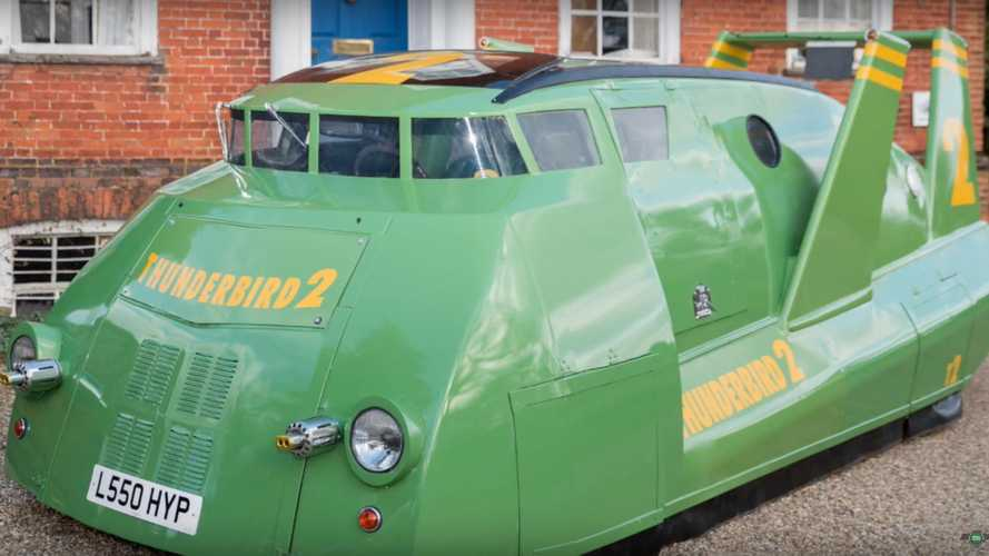 Thunderbird 2 Replica Is Weirdest Toyota Previa You've Ever Seen [UPDATE]