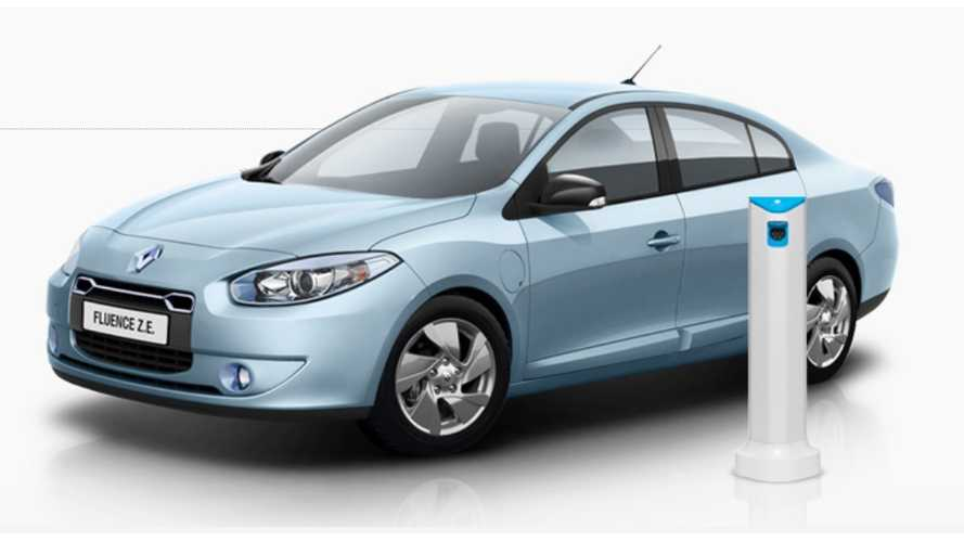 Used Better Place's Renault Fluence Z.E. Vehicles Up For Sale - Expected to Fetch Half the Original Price
