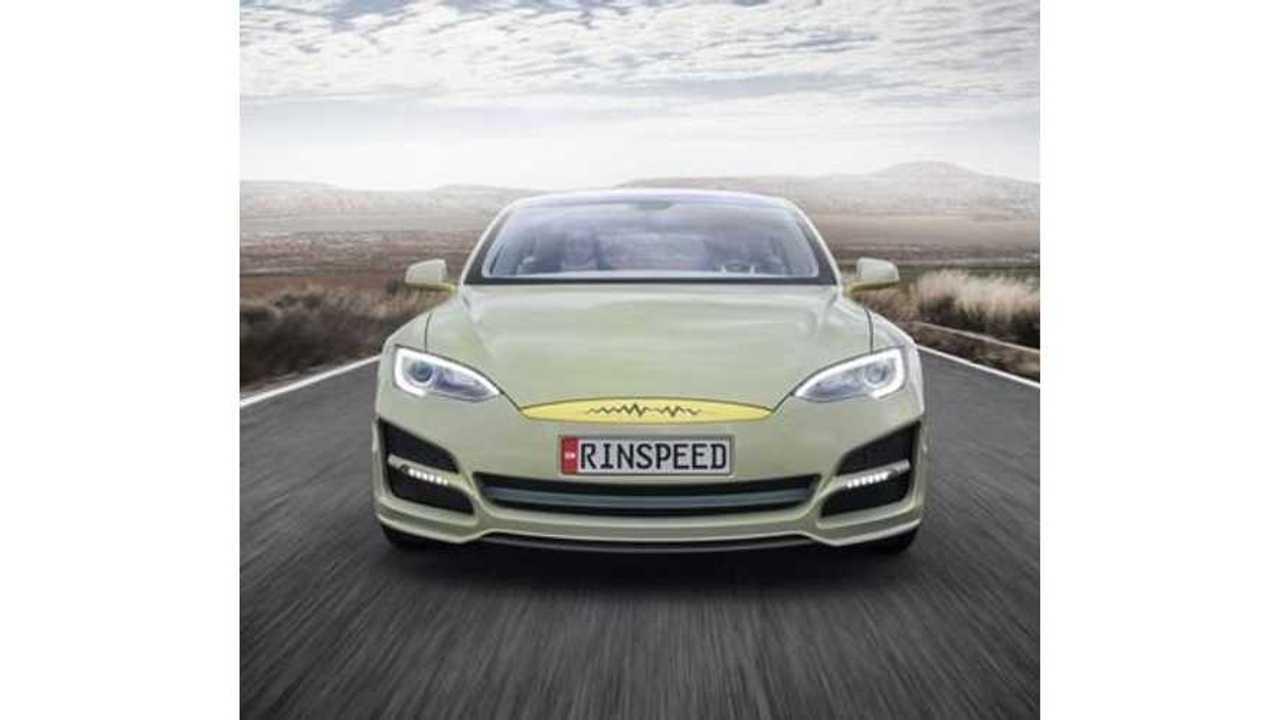 Tesla Model S Transformed Into Autonomous Rinspeed XchangE (w/videos)