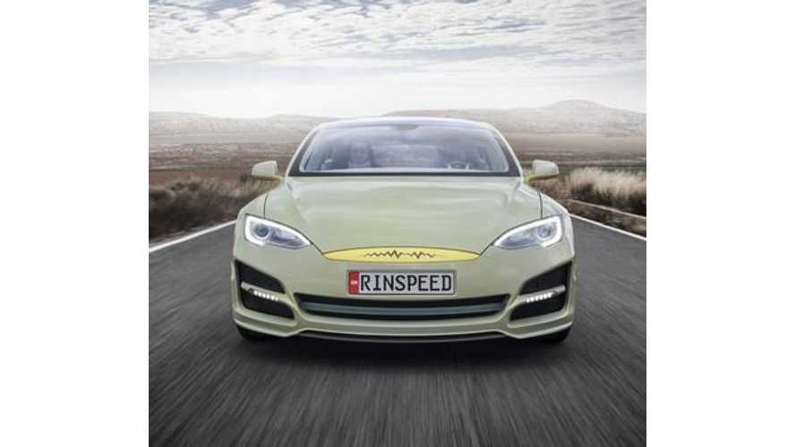 Tesla Model S Transformed Into Autonomous Rinspeed XchangE (w/videos)
