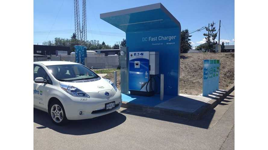 British Columbia to Get Canada's First Quick Charge Network