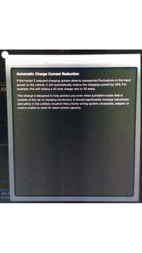 Tesla Model S Software Update 5.8.4 Reduces Charging Current by 25% If Input Power Fluctuations Are Detected