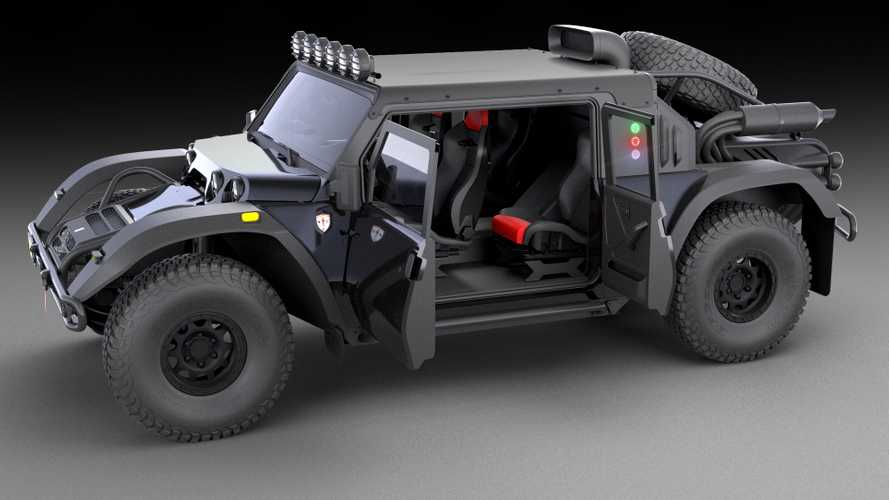 Glickenhaus SUV priced From £220K, Baja 1000 entry optional