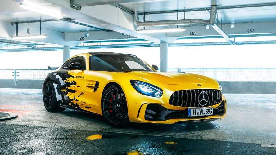 Mercedes-AMG GT R von Fostla: Gelb-Schwarzer Renner
