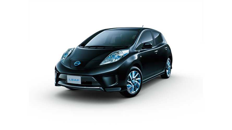 Nissan LEAF Aero Style To Go On Sale in Japan This December