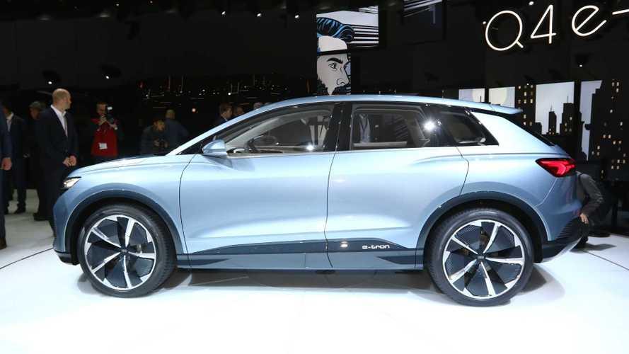 Audi Q4 e-tron concept, SUV elettrico e compatto per Ginevra