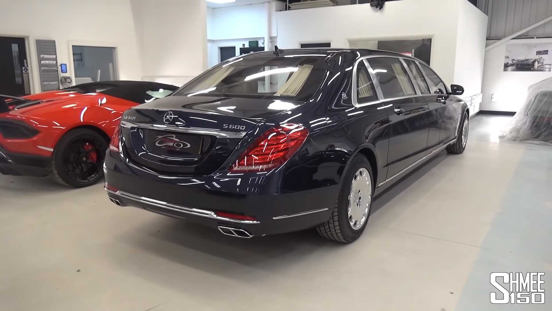 Have A Look Inside The Gigantic Mercedes Maybach S600 Pullman