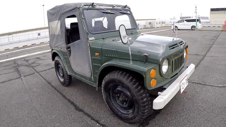 This Suzuki SJ-10 Jimny Is Still Adorable Even After 40 Years