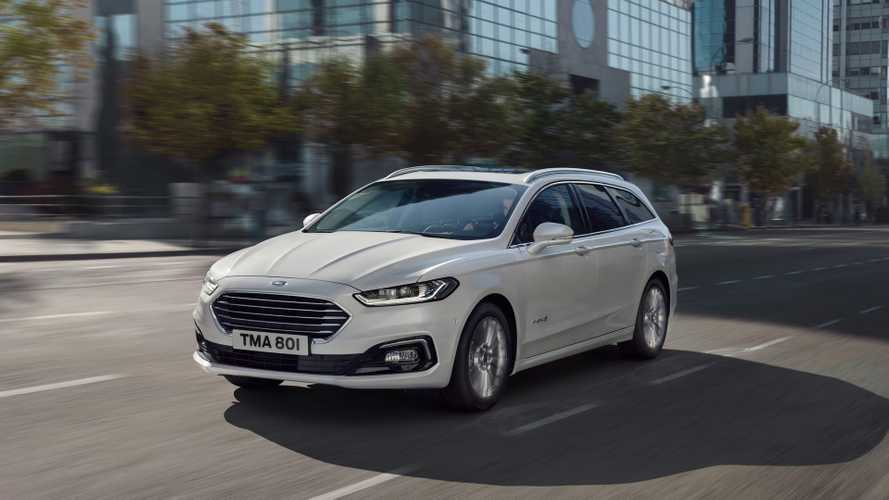 Ford Mondeo Facelift 2019
