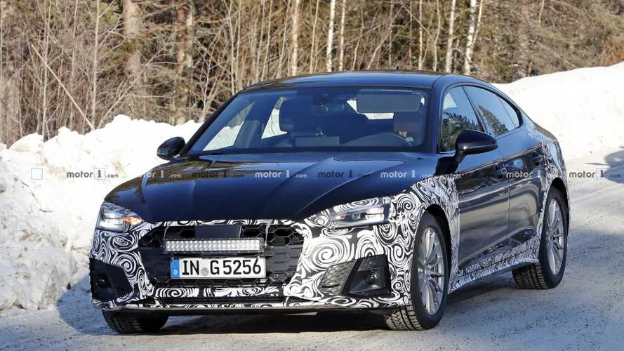 L'Audi A5 Sportback restylée surprise pour la première fois