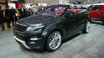 Range Rover Evoque Cabrio concept live in Geneva 06.3.2012