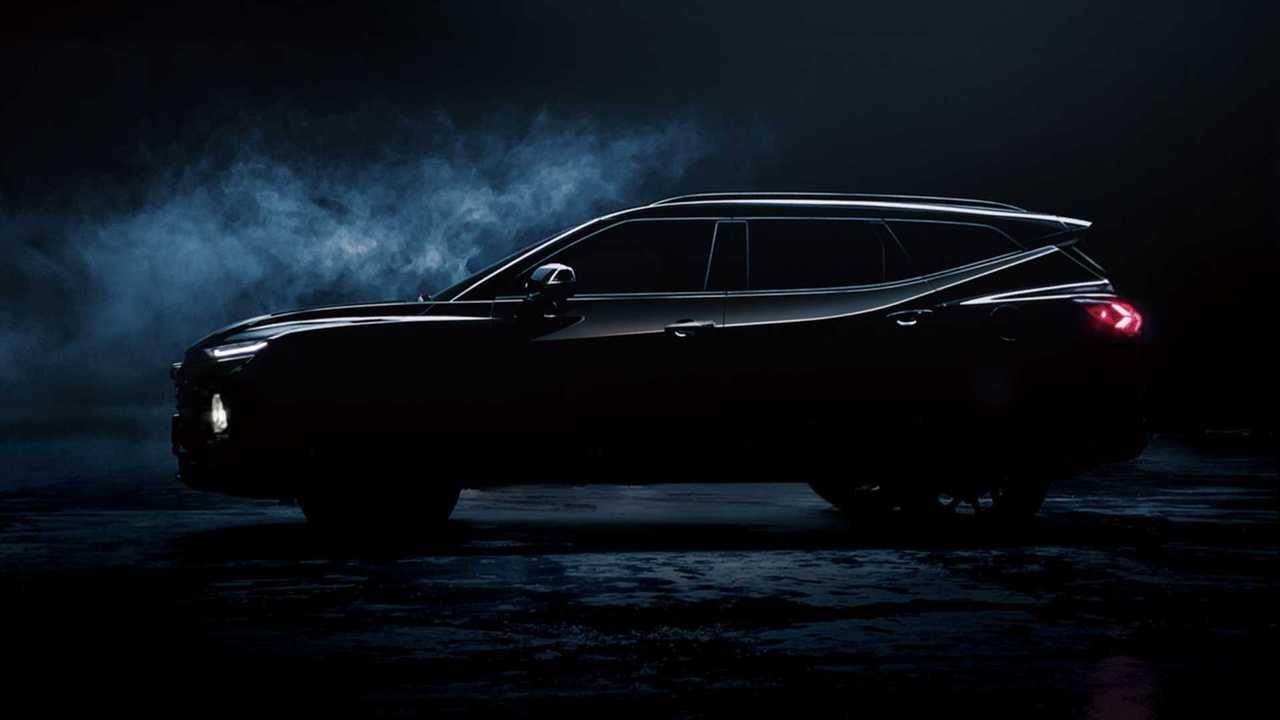 Chevrolet Blazer XL - Teaser
