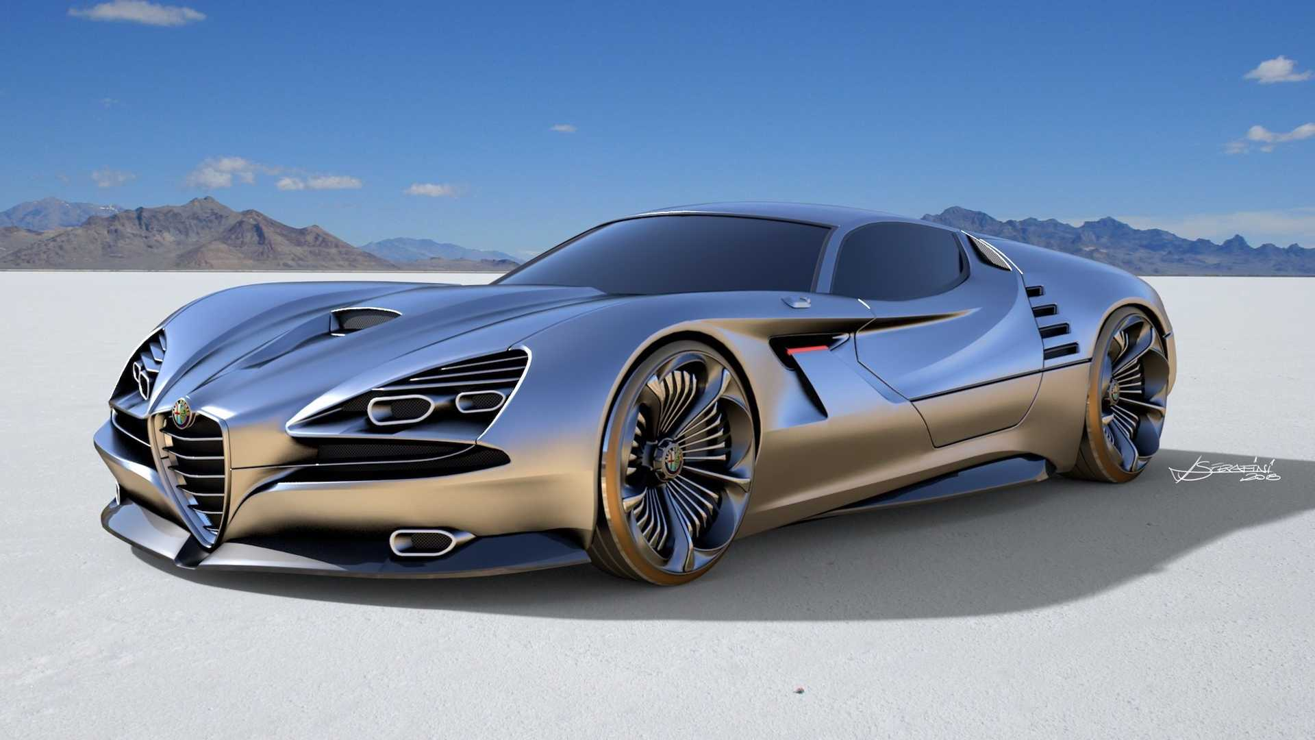 Alfa Romeo Concept Car >> Alfa Romeo Montreal Vision Gt Concept Has Our Jaws On The Floor