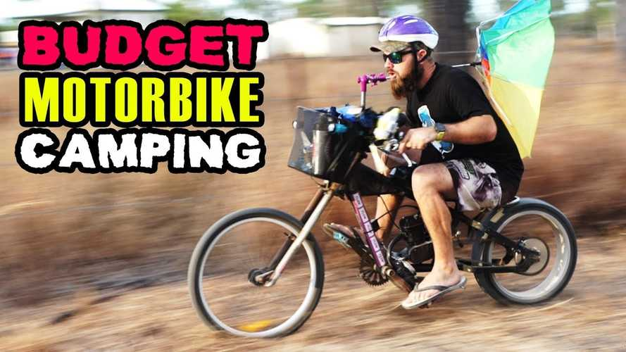 Guys Build DIY Bikes, Go Budget Motocamping, Hilarity Ensues