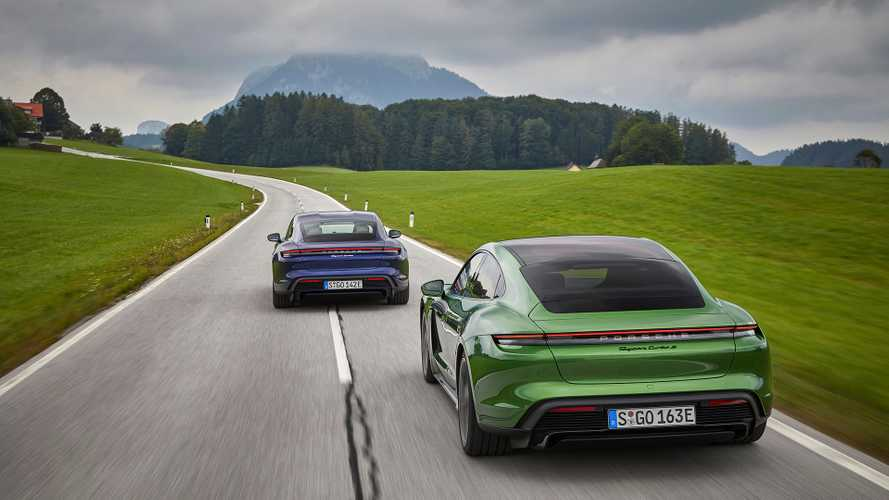 Porsche Taycan Sales Hit Almost 4,500 In First Half Of 2020