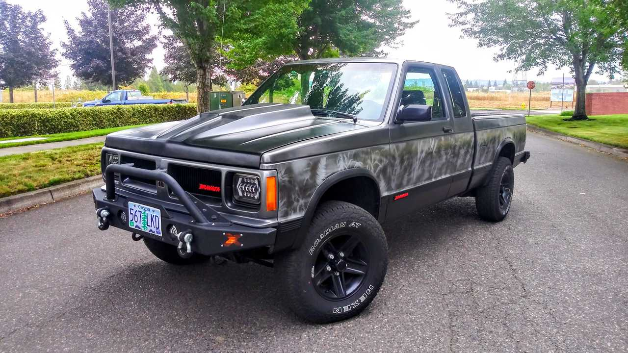 Bravaja Is The Chevy S10-Based Oldsmobile Truck That GM