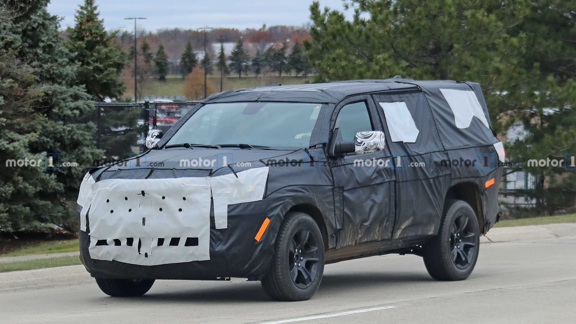 2021 jeep wagoneer spied for the first time  carsradars