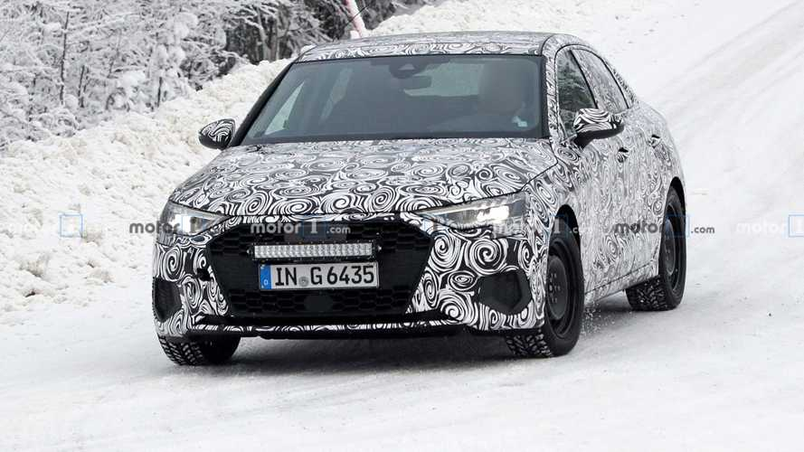 2021 Audi A3 Sedan spy photos