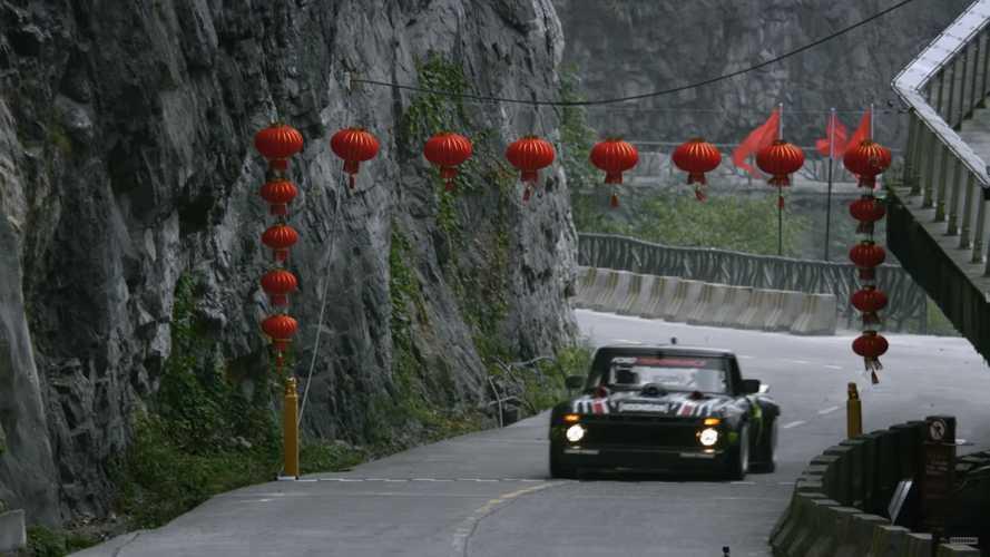 Découvrez le Climbkhana 2 de Ken Block au Mont Tianmen